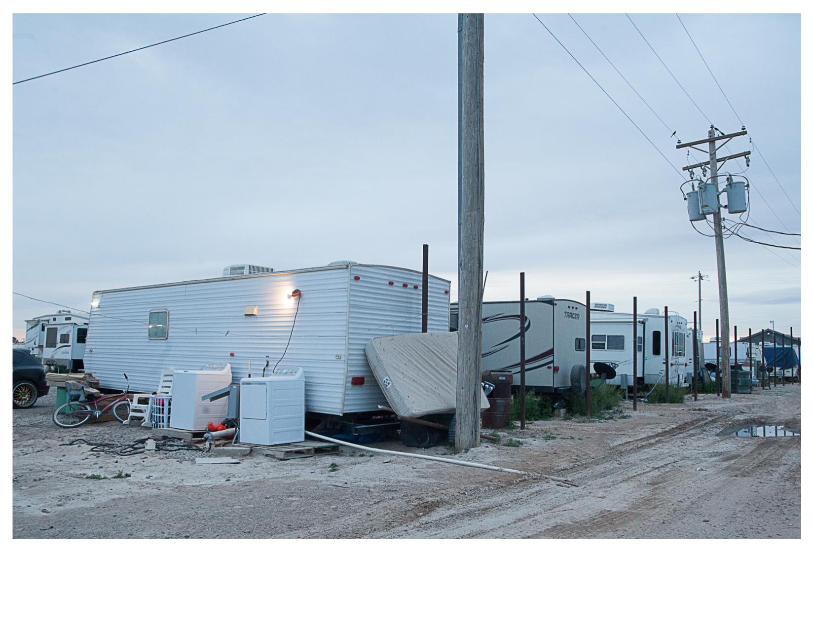 Oilfield Worker's Camp, Pecos, TX