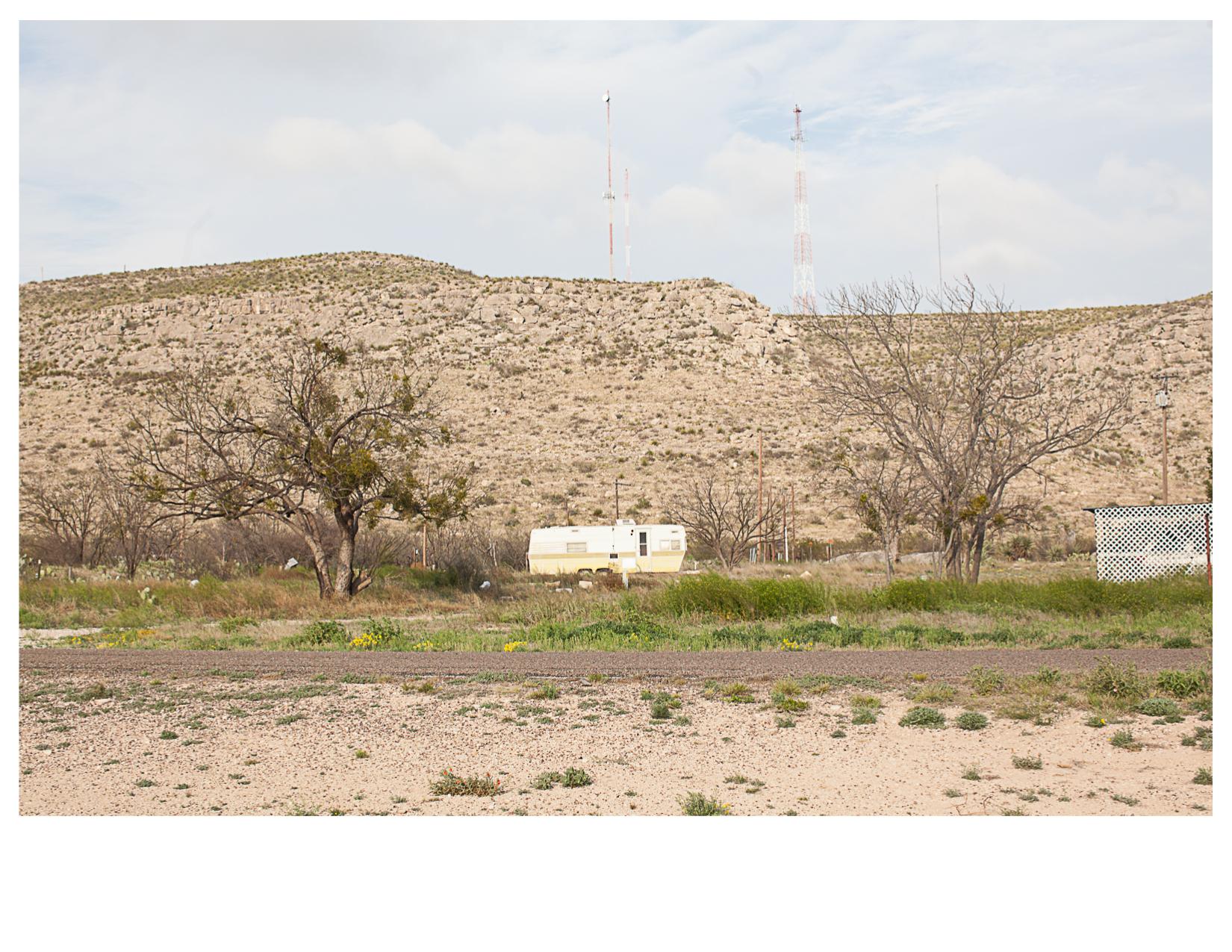 Trailer and Antennas, Sanderson, TX