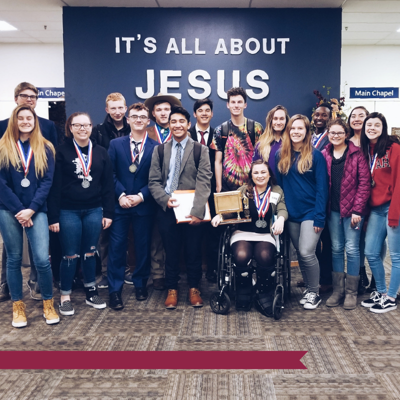 The 2017-2018 ICS Debate Team placed 1st in State for a second year in row!!! We are excited for how God used the team to glorify his name and to witness to those teams with which we interacted during the debate season.