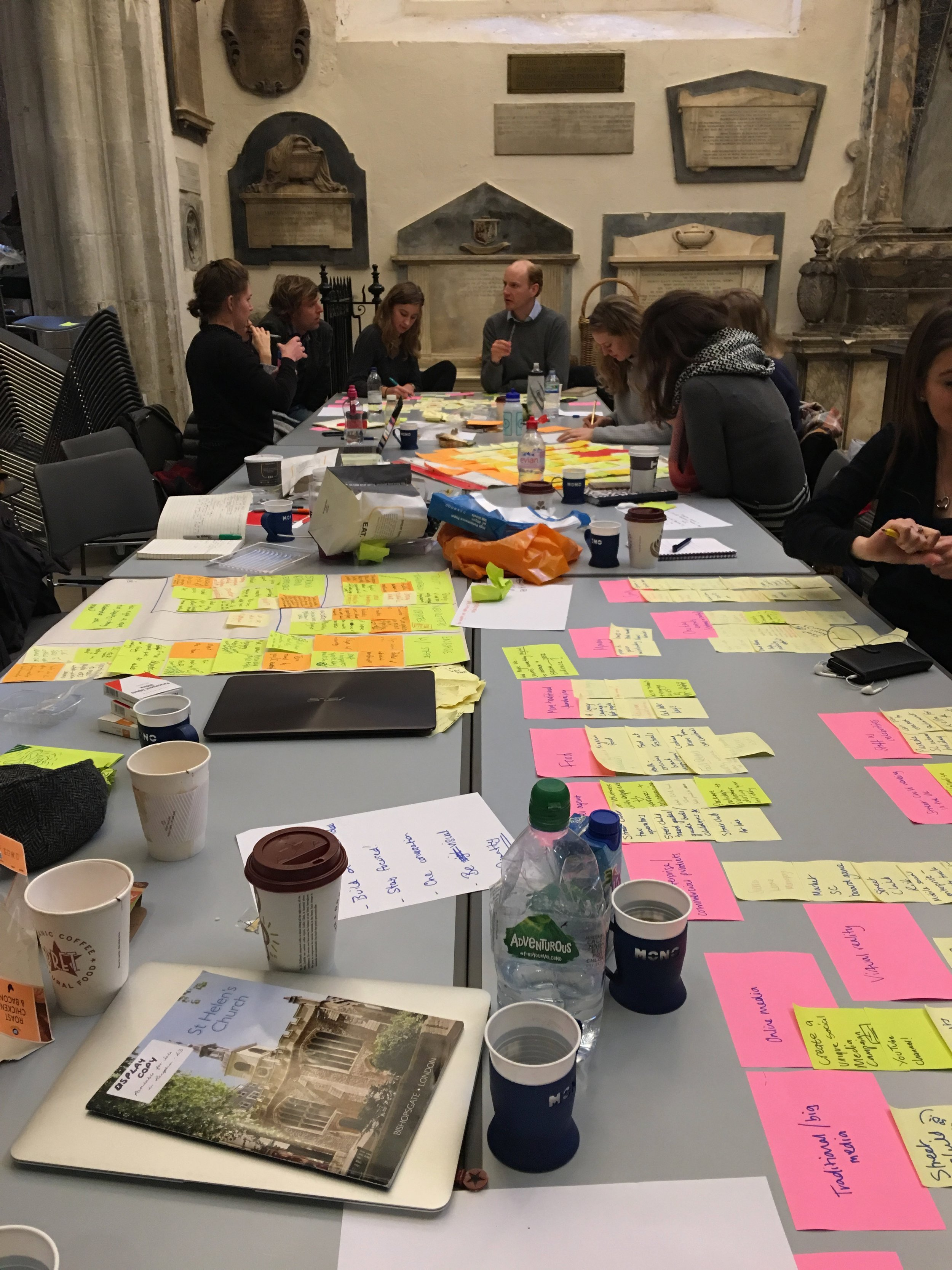 Train your team in human-centered design - The innovation process gets messy so we created a training programme to help teams feel creatively confident and integrate human-centered design into their business