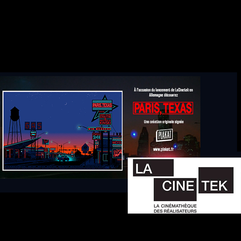 LA CINETEK - COMMUNICATION AND SPECIAL PROMOTION FOR THE RELEASE OF A NEW POSTER
