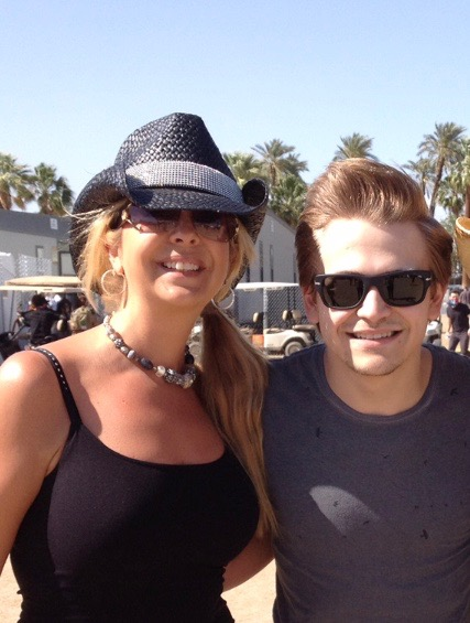 Backstage with Hunter Hayes