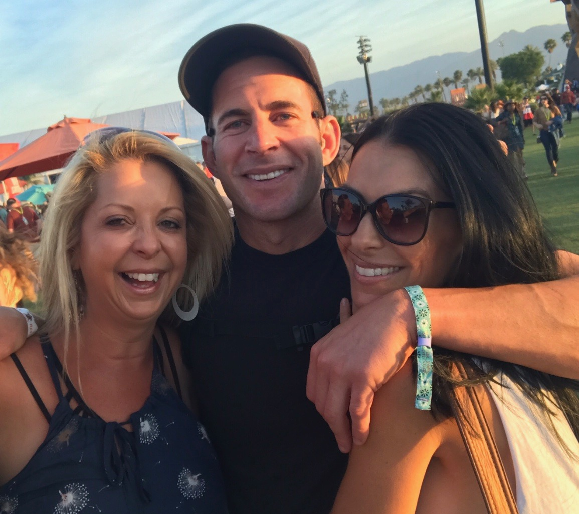 Fun with Tarek El Moussa @ Stagecoach