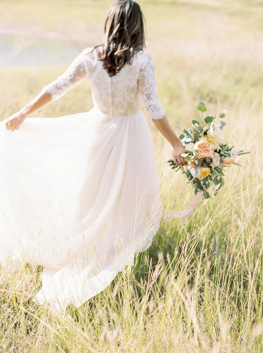 "Dress shopping can be one of the most stressful aspects of planning a wedding. With shows like ""Say Yes to the Dress"" and hundred thousand dollar weddings spreading like wildfire on Pinterest, the pressure is on to find the picture-perfect dress! Here are our top 6 tips to help you make the dress shopping experience a breeze!"