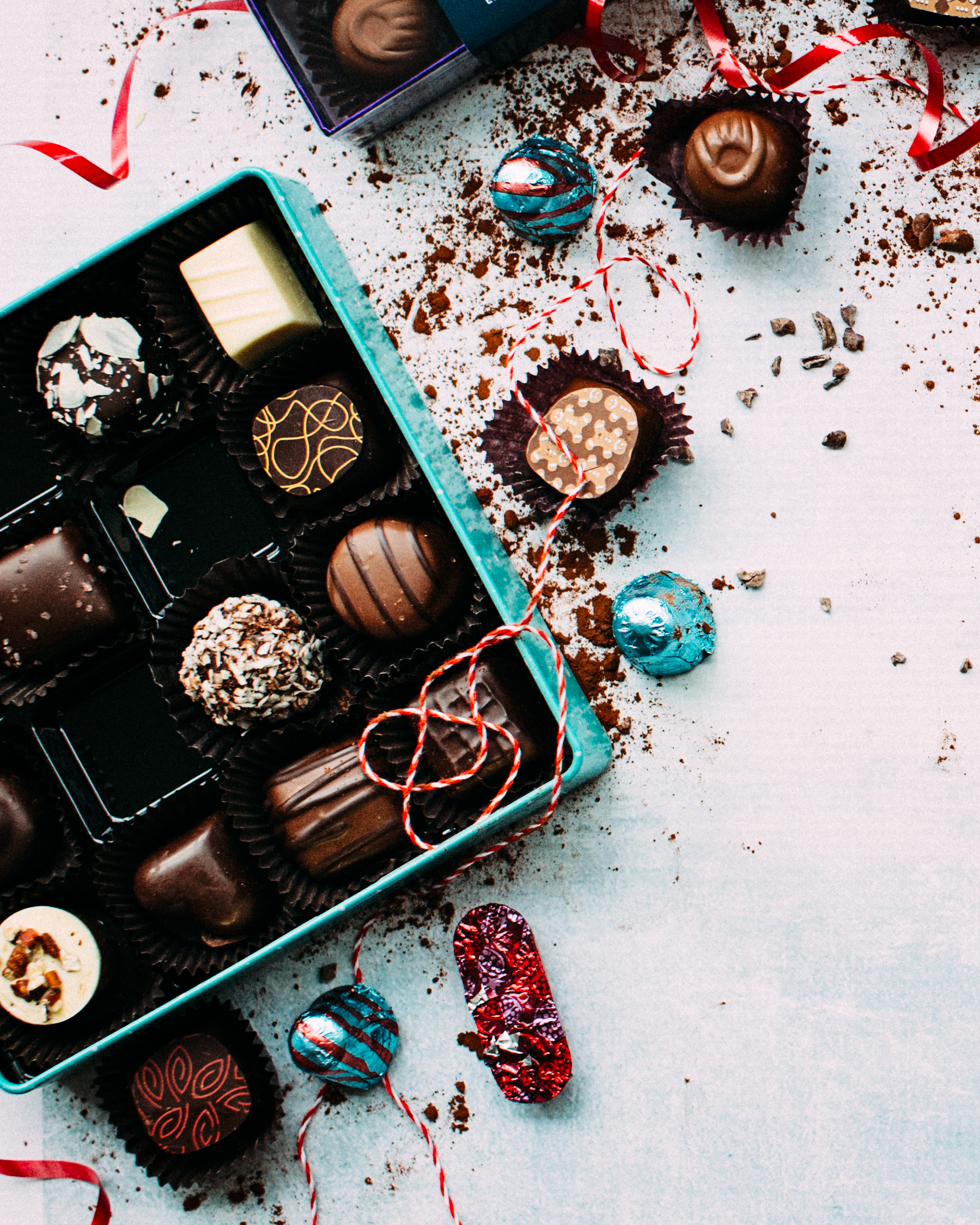 Have a chocoloholic friend? Surprise her or him with specialty goodies from a bougie sweet shop!
