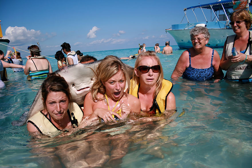 stingray and girls photobomb.jpg
