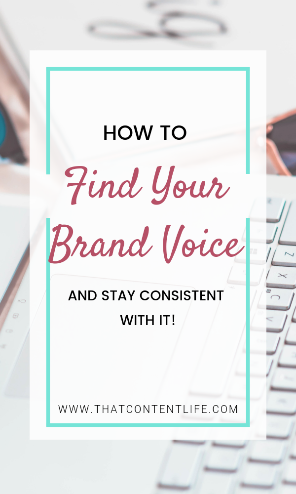 How to find your brand voice guideline