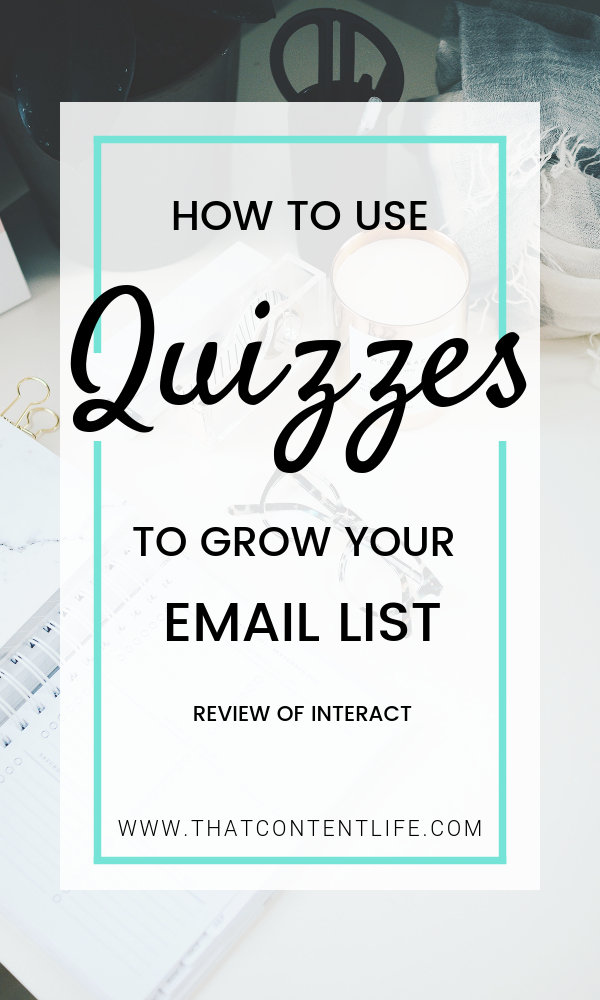 How To Use Quizzes To Grow Your Business Email List