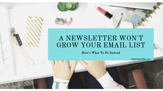 How to grow your email list using lead magnets and content upgrades