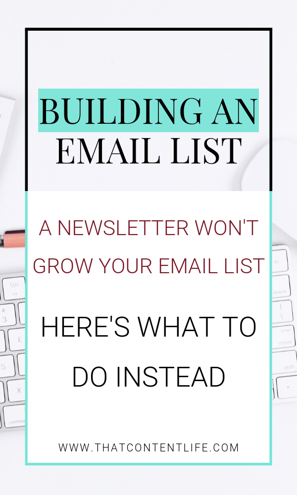 How to grow your business email list using lead magnets and content upgrades