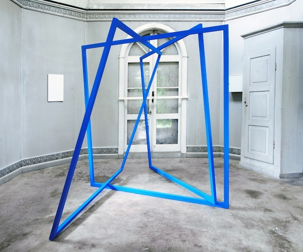 Gates , 2015  Lacquer on aluminium, 200 x 250 cm  Go To Gate , Lynx, 2015 Photo: Josefine Lyche