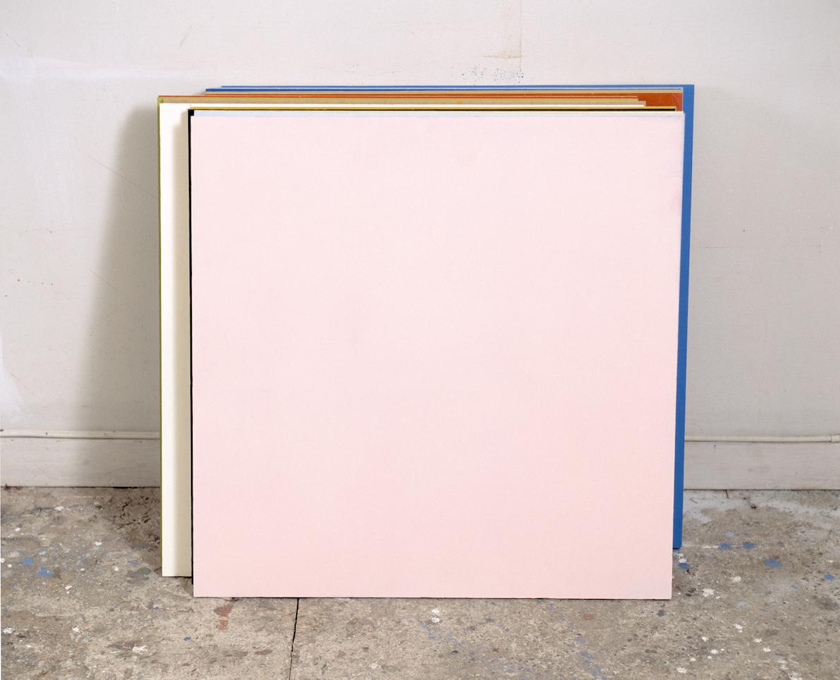 Berørt , 2002 Acrylic on wood, 60 x 50 cm  Se , Kunstnerforbundet, 2002 Photo: Finn Arne Johannesen