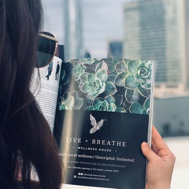 Thank you @bestofbna for having Live + Breathe in your inaugural issue. Thrilled to be featured with the top-of-the top in Nashville's luxury industry.
