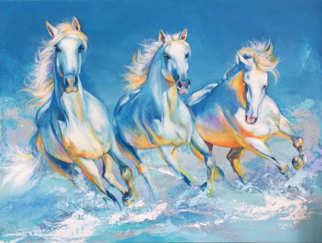Mary Maguire Three Horse Run.jpg