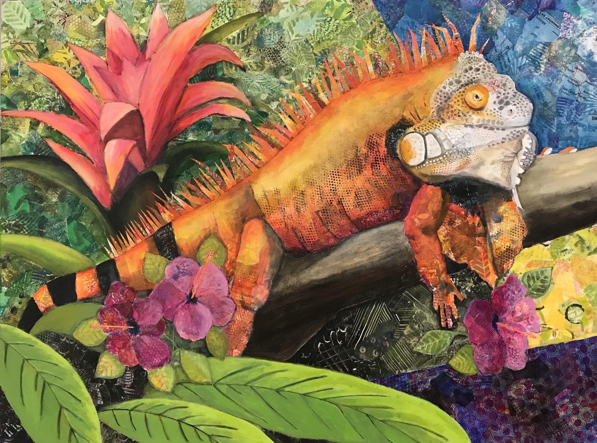 Susan Hurwitch Theres an iguana in my garden.jpg