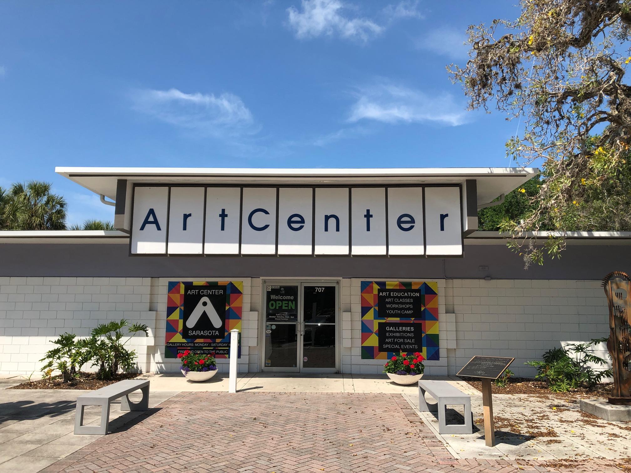 Situated on the historic Sarasota Bayfront, Art Center Sarasota is the center of Sarasota's visual arts communtiy.