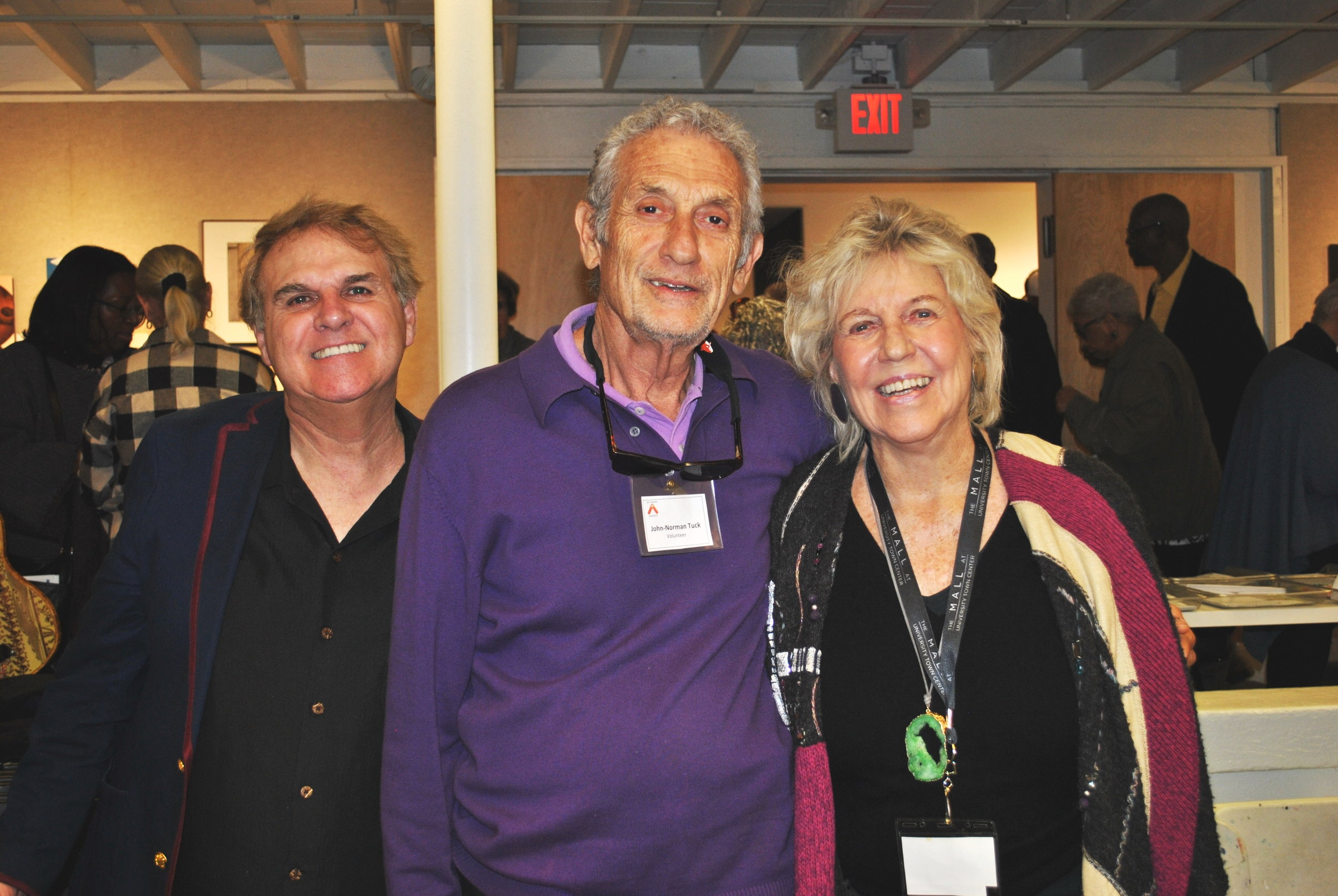 Volunteers John-Norman Nancy Von Lazar 2019 Cycle 3 Work of He(art).JPG