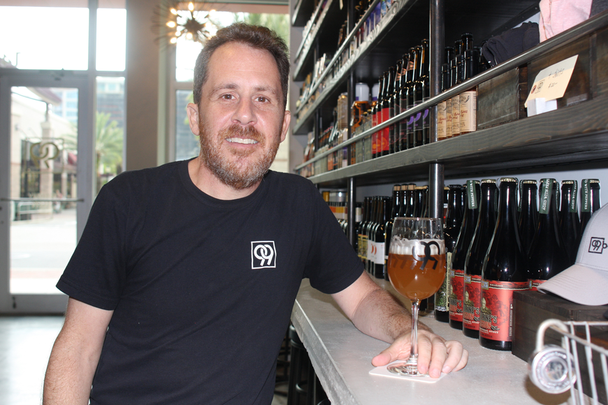 Mark Tuchman,  Owner of 99 Bottles