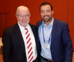 Dennis Gartmen (left), and Vance Barse (right), at the FA Inside Alternative Investments & Asset Allocation Conference, Las Vegas, September 24, 2018