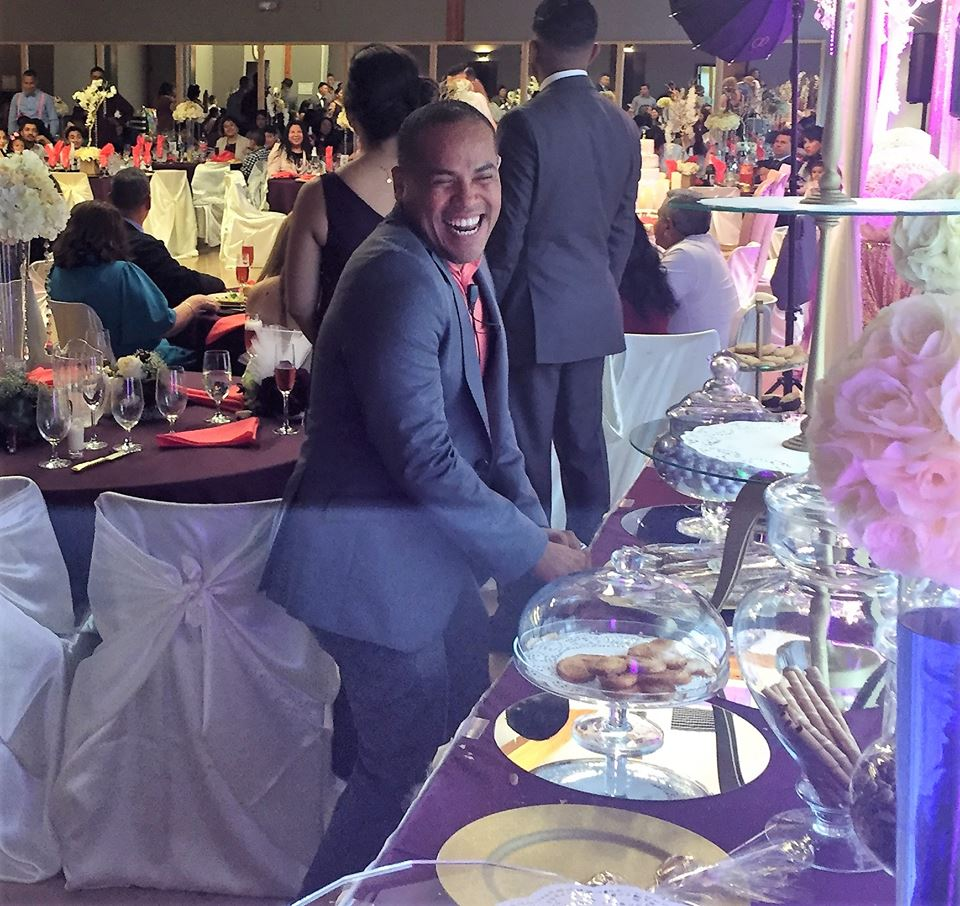 Rey's positive energy and attention to detail keeps your event smooth and successful!