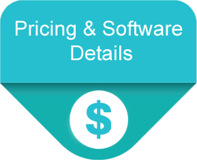 Pricing includes unlimited users, unlimited members, 3 concurrent logins and all features. No extra modules to purchase.
