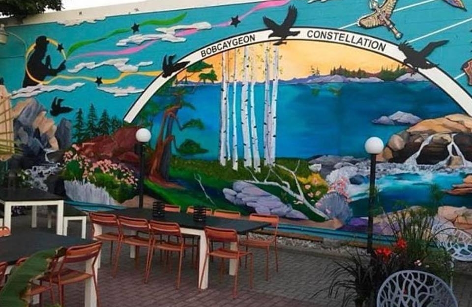 The new Bobcaygeon Constellations mural is a prime example of how we can use tourism grant funding coupled with successful media marketing to strengthen our presence in the competitive tourism market