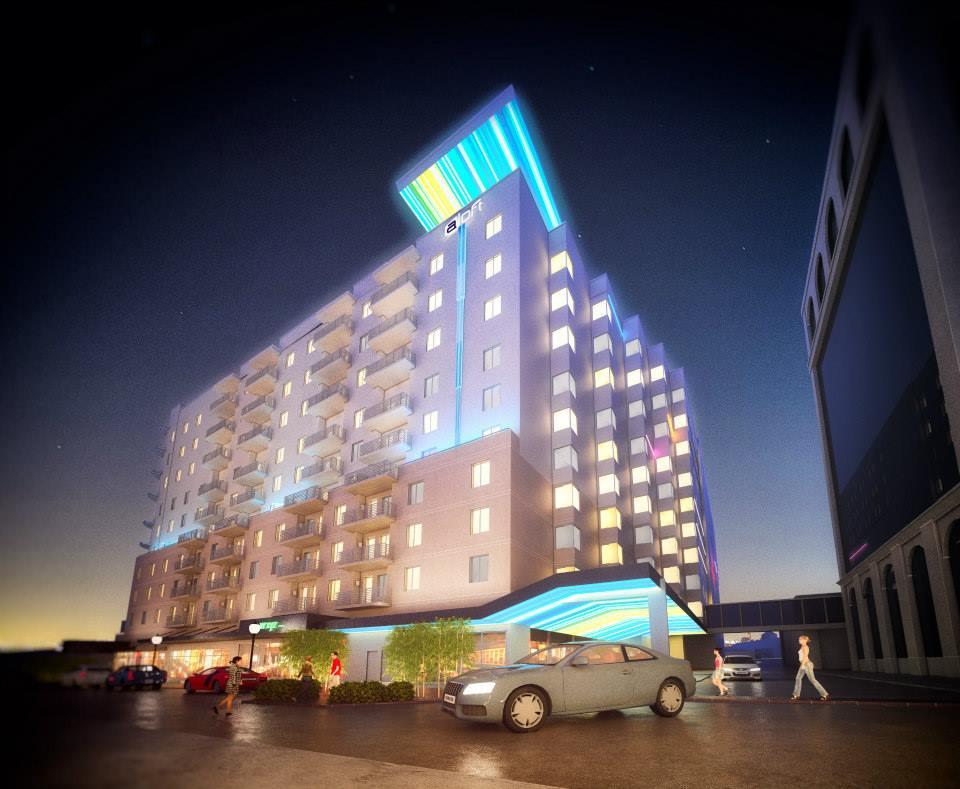 Aloft Hotel Rendering