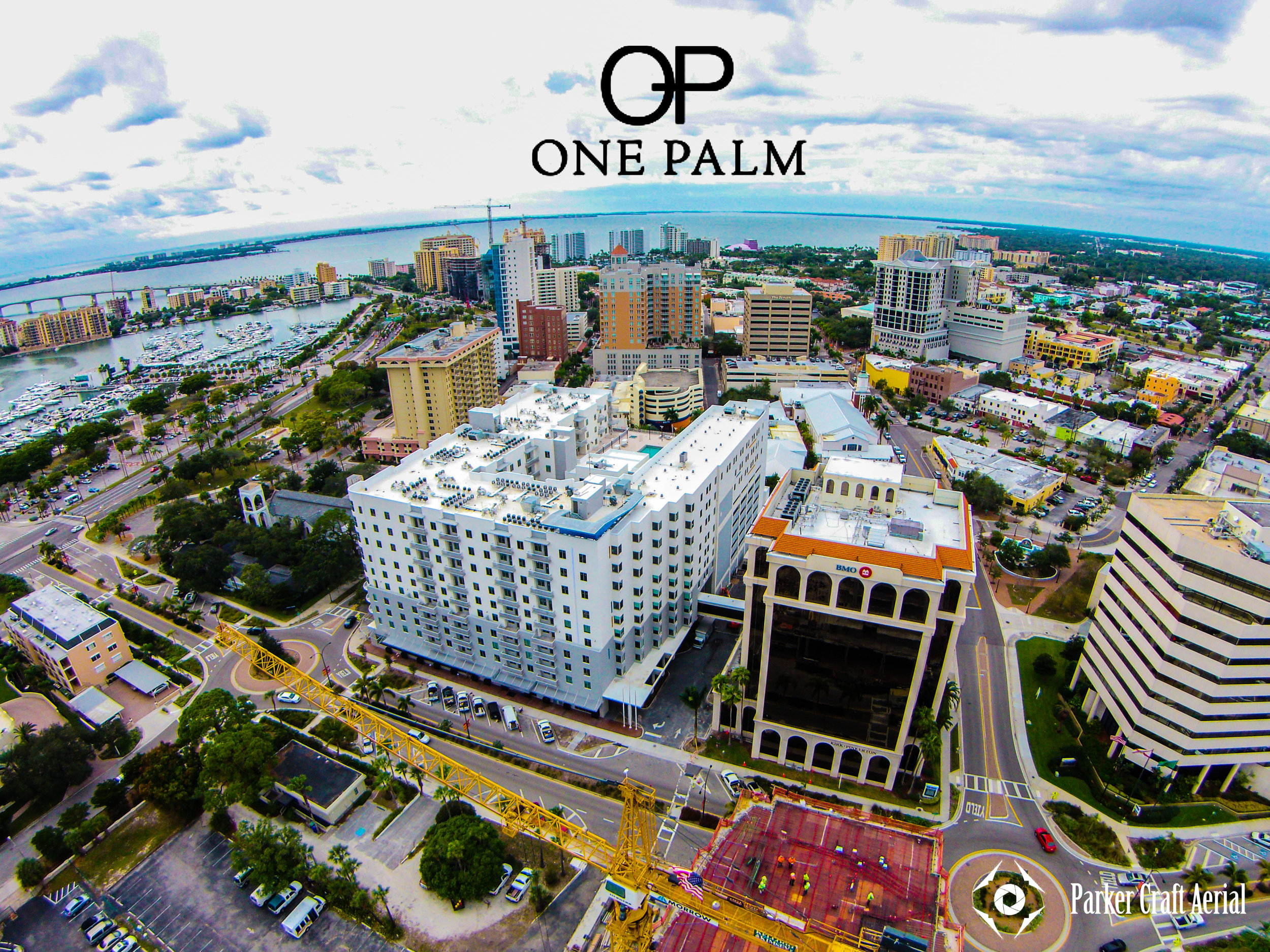 One Palm Aerial View