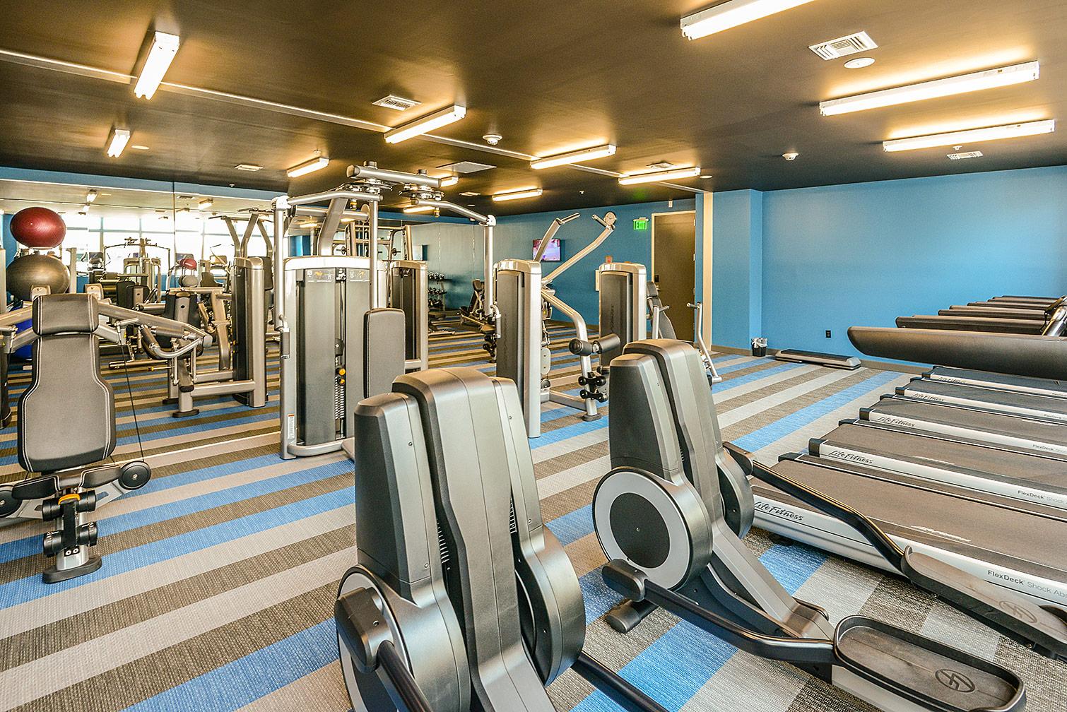 Aloft Hotel Workout Facility