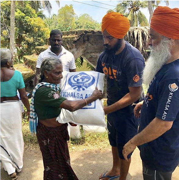 via @Khalsa_aid on Instagram