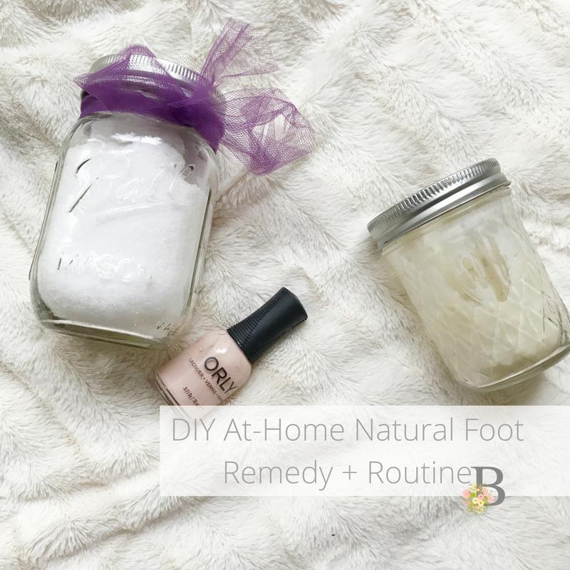 DIY At-Home Natural Foot Remedy + Routine