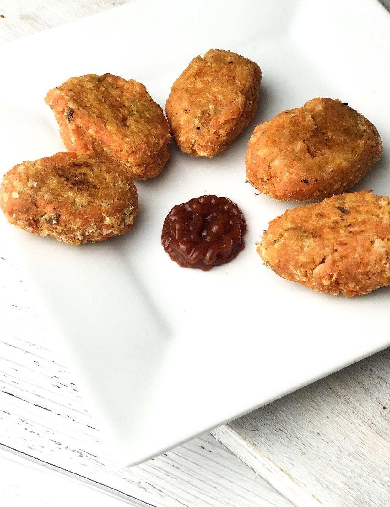 Sweet Potato Tatertots