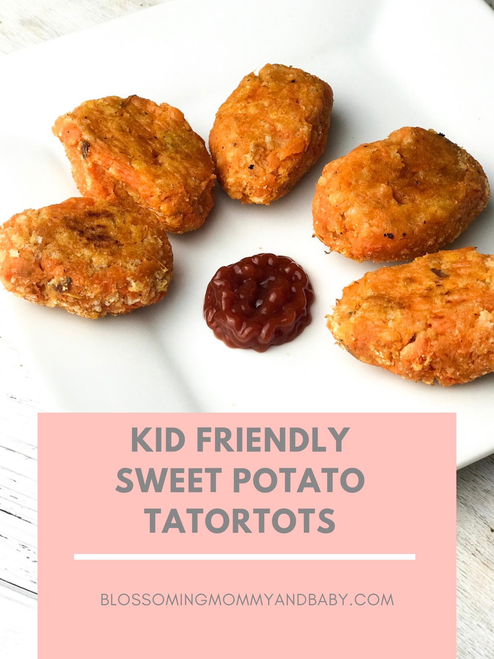 sweet potato tatortots