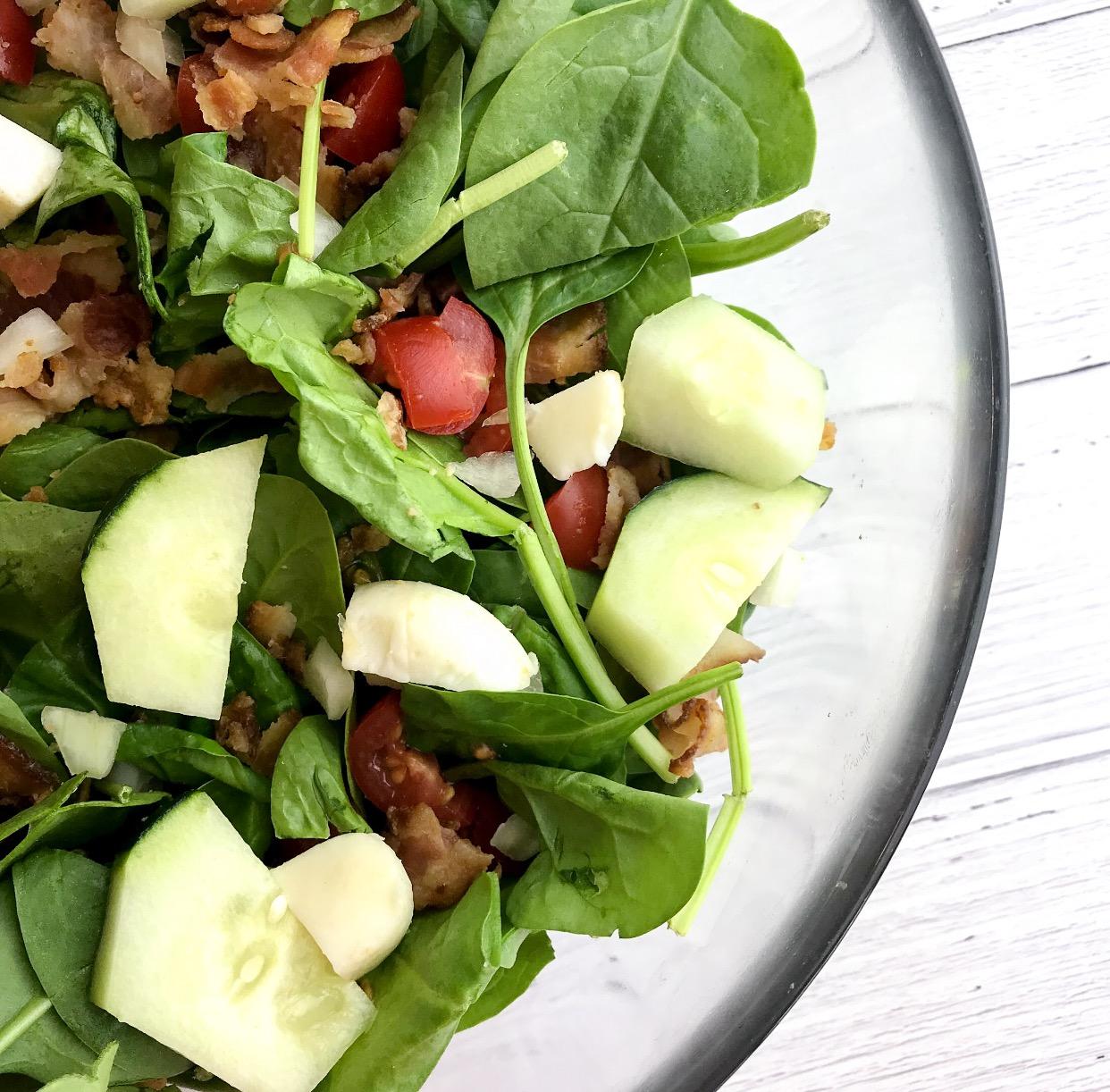 BLT Salad and Homemade Dressing!