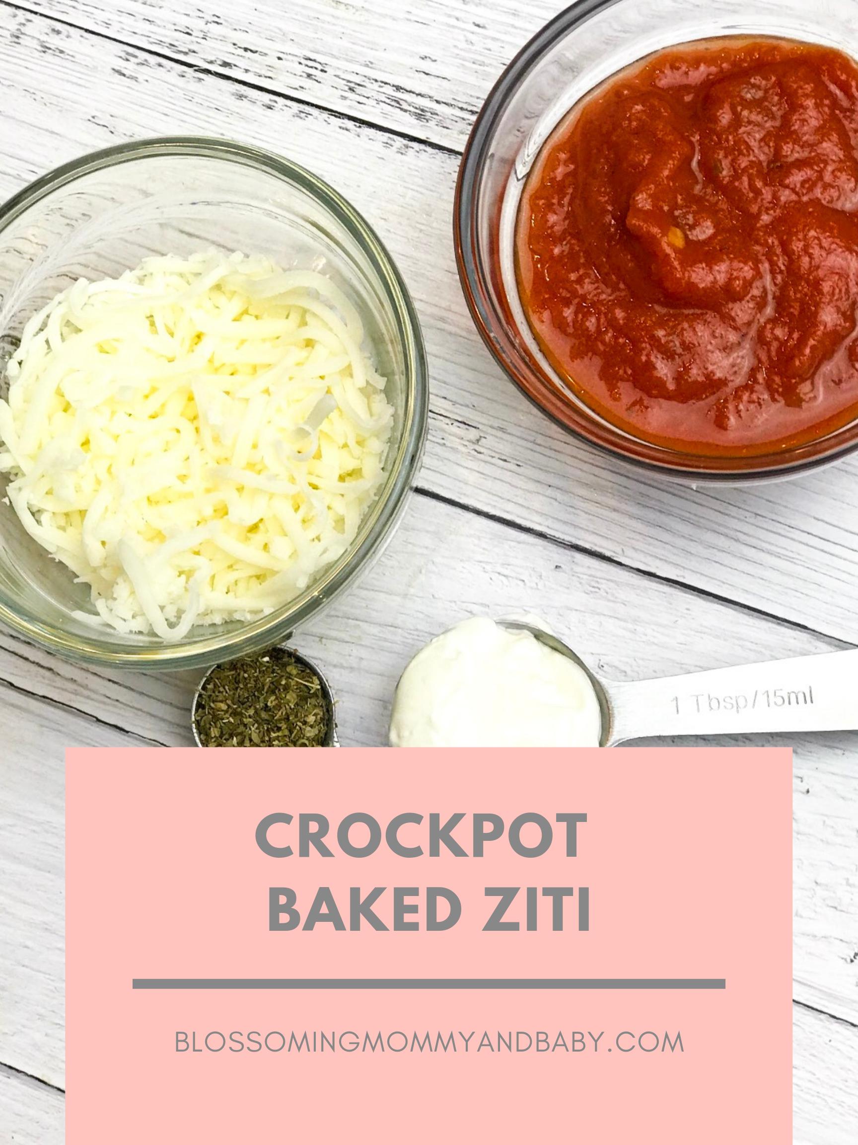 Corckpot baked ziti