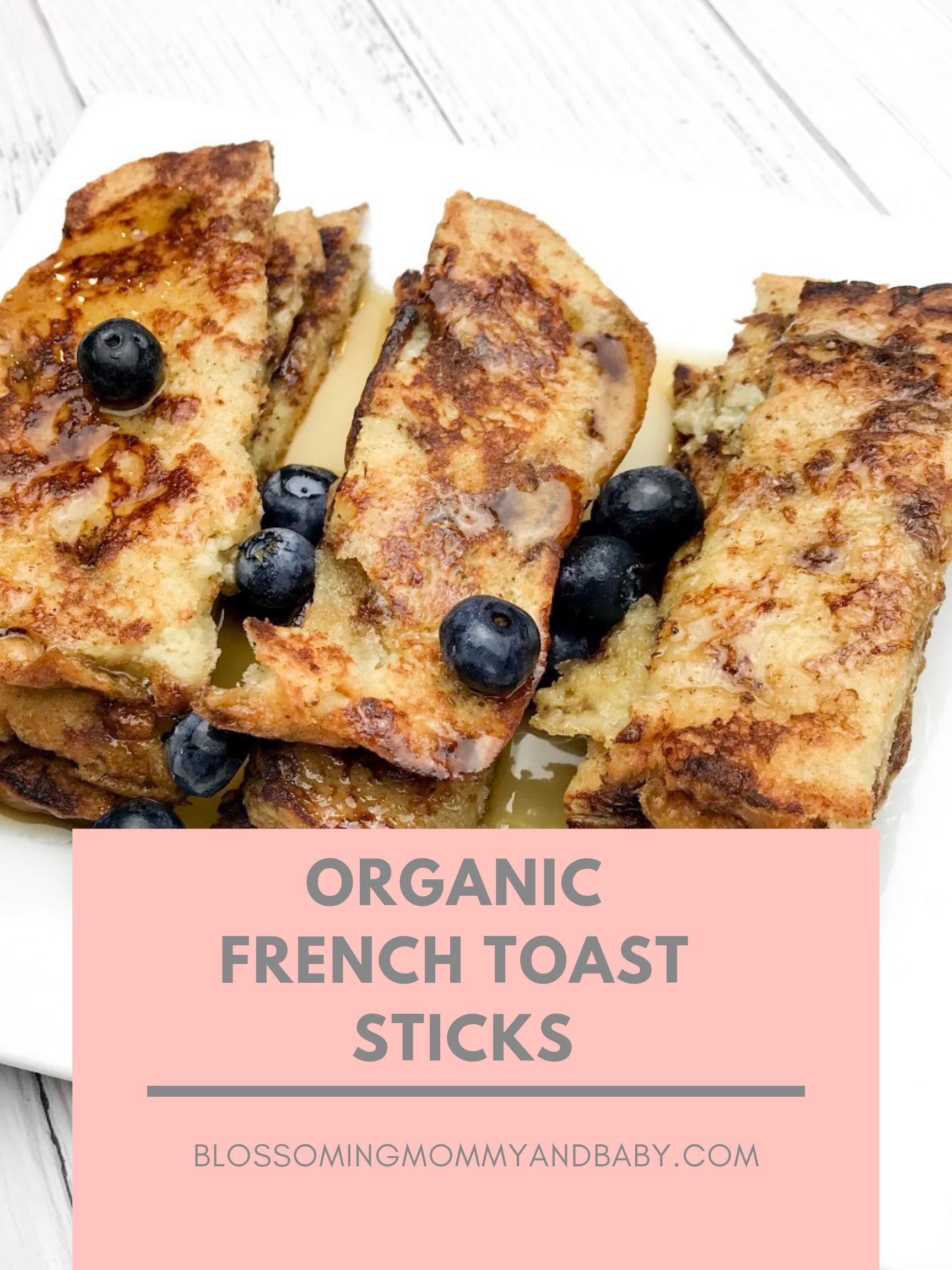 Organic Fench Toast Sticks
