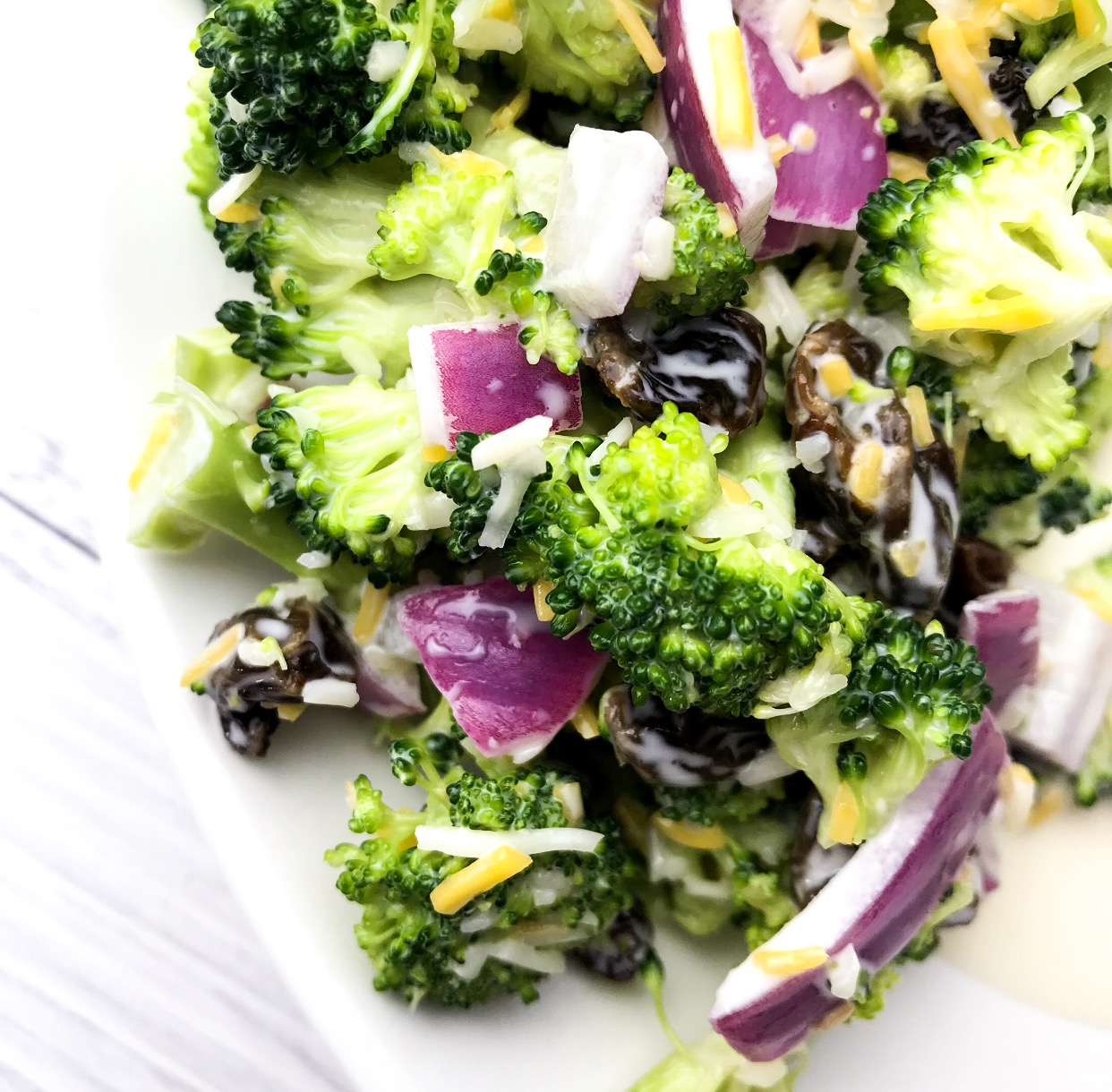 Blossoming Mommy and Baby   Broccoli Salad