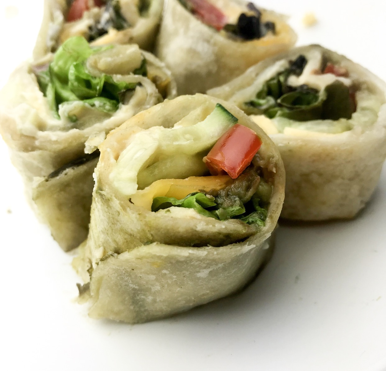 Chicken Pinwheel Wrap
