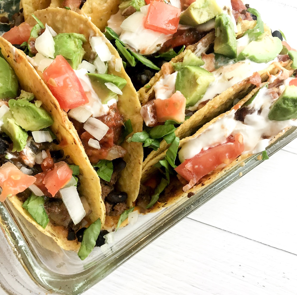 Easy Baked Beef Tacos