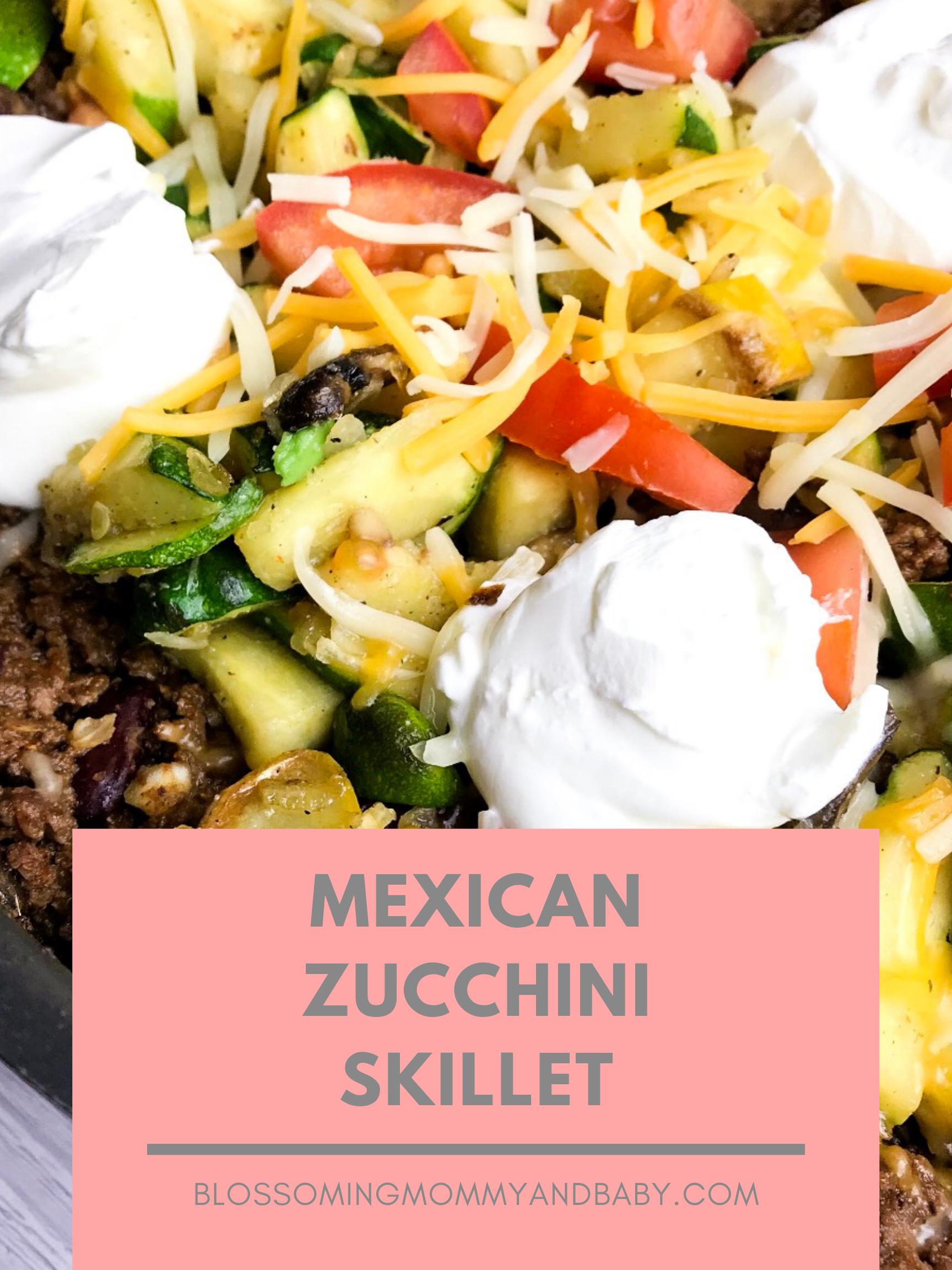 Mexican Zucchini Skillet