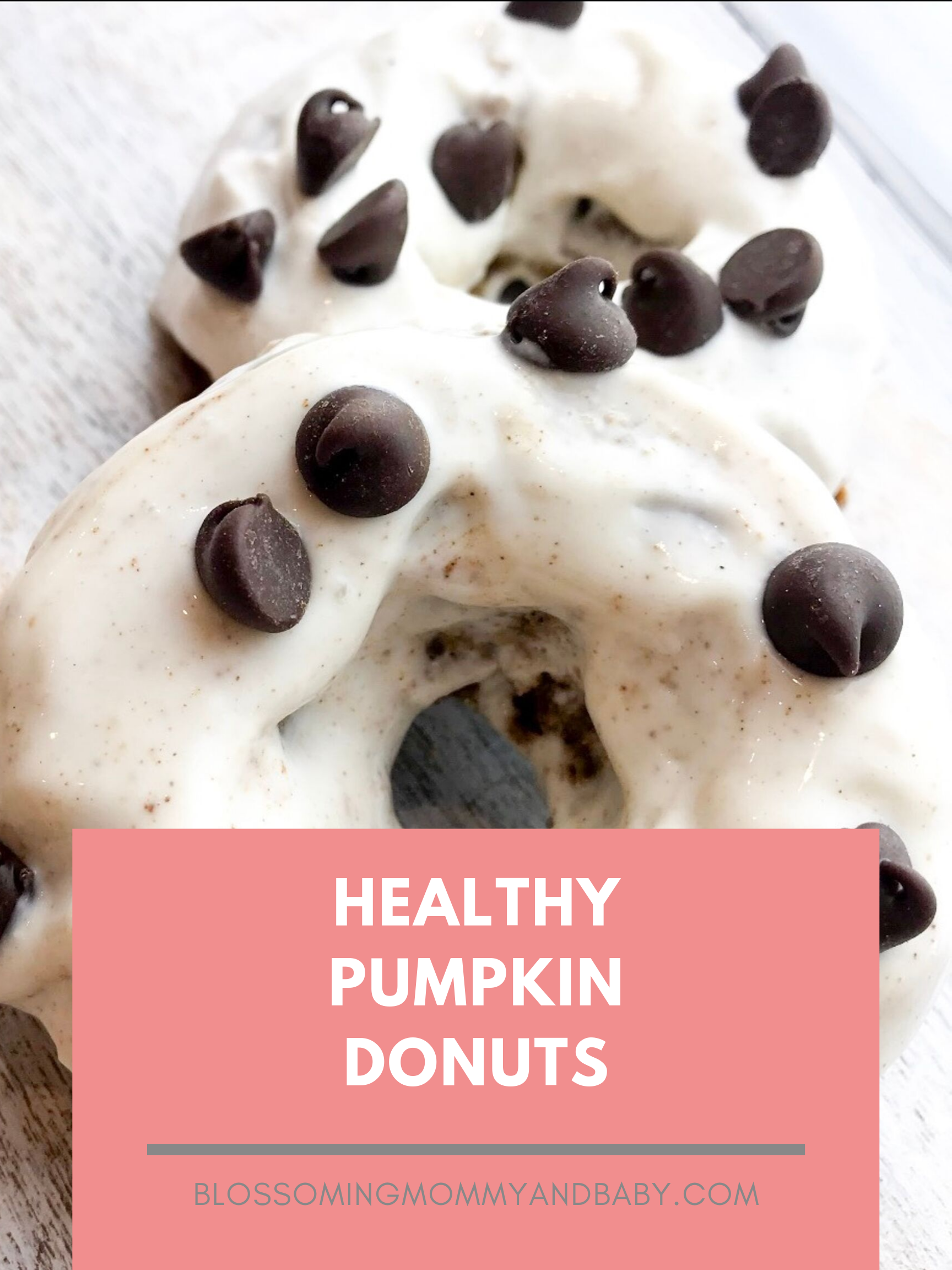 HEALTHY PUMPKIN DONUTS | Blossoming Mommy and Baby