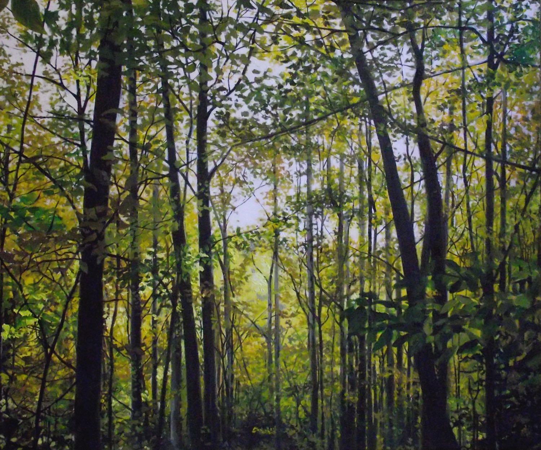 "belfountain, 2013, oil on canvas, 36"" x 30"""