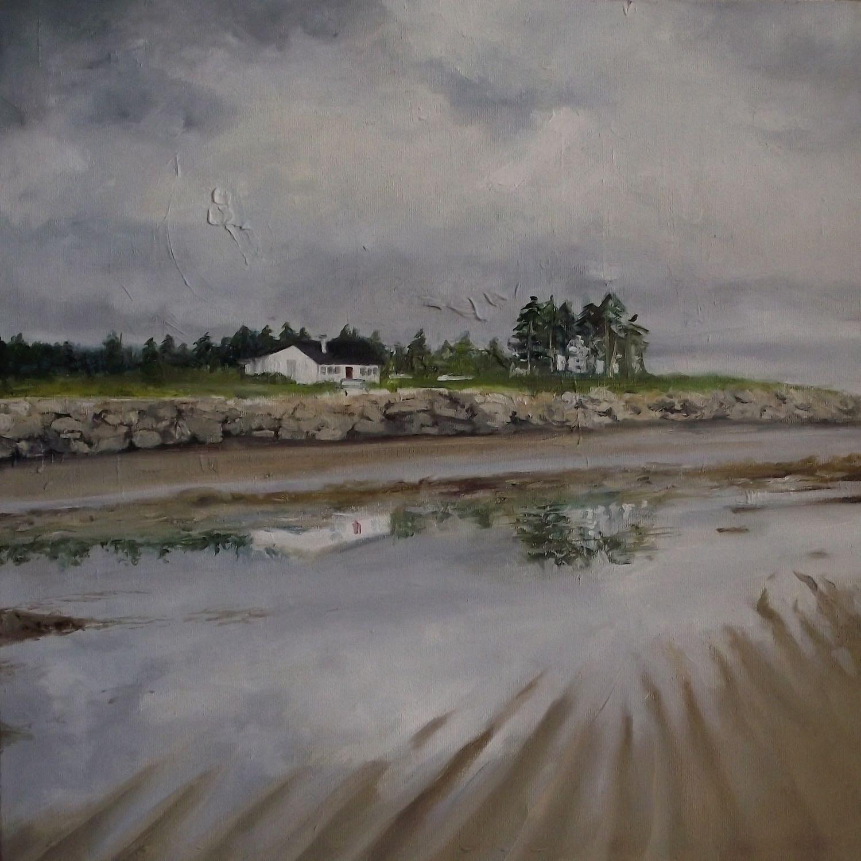 """murrays corner ii, 2013, oil on canvas, 16"""" x 16"""""""