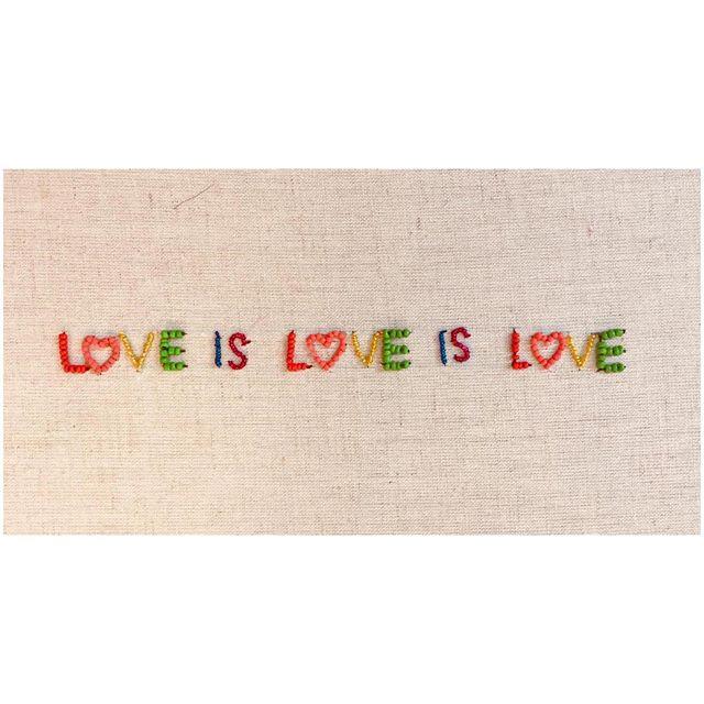 LOVE IS LOVE IS LOVE ❤️💛🧡💚💙💜 #lgbtq #pride #lovewins #loveislove