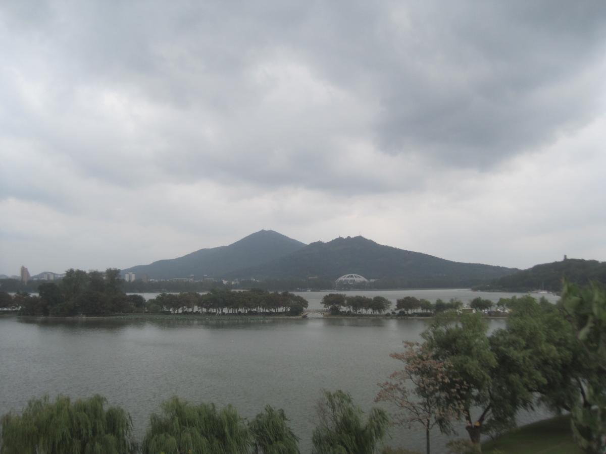 Zhongshan Mountain (Purple Mountain) is east of Nanjing, China.                                                  Photo credit E.Bach