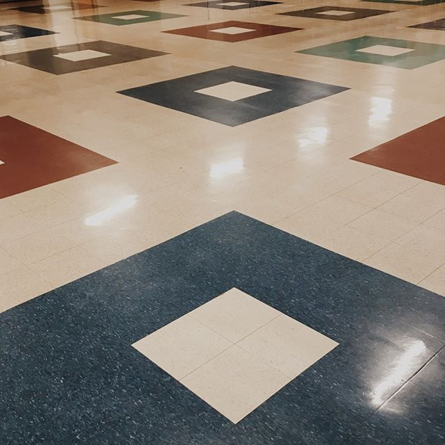 This morning was the last time we'll be laying eyes on these sweet tiles for a few weeks. On Sunday, July 28 we'll be worshipping alongside Victor Baptist Church, and the following Sunday, August 4, we will begin worshipping in the school's auditorium. Thanks for being flexible!