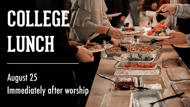 Hey college students, next Sunday we're feeding you lunch! Make plans to stick around after worship. We'll feed you and share a bit about our vision for collegiate ministry. Bring a friend! @northgreenvilleuniversity #tcgreerstation #wearengu