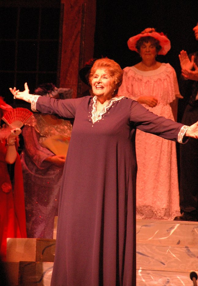 Lucine Amara performs in Verismo Opera's The Merry Widow at the bergenPAC on June 3, 2007. Photo: Marilyn Monsanto