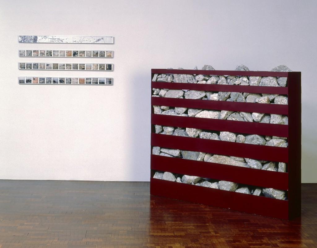 Robert Smithson, Nonsite: Line of Wreckage (Bayonne, NJ), 1968.