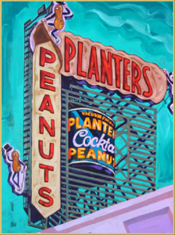 Planters Peanuts - Mike Bell